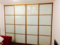 Made to measure sliding doors. From £75. Mirror, coloured glass and more