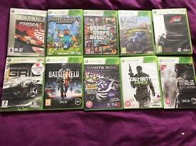 Bundle Of Xbox360 games