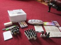 BARGAIN Complete GEL NAIL set with UV Dryer £65 ONO