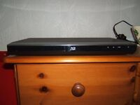 FAULTY TOSHIBA BLU RAY PLAYER WITH REMOTE CONTROL & MANUAL