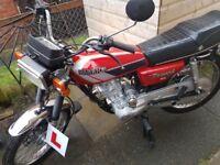 Honda cg 125 copy