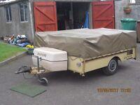 Trailer Tent Dandy 5 Berth, under floor heating, cooker & sink etc (Dunfermline)
