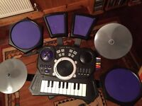 Kids Digital music style drum set