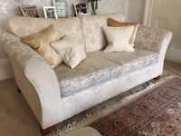 Two matching M&S sofas need a good home