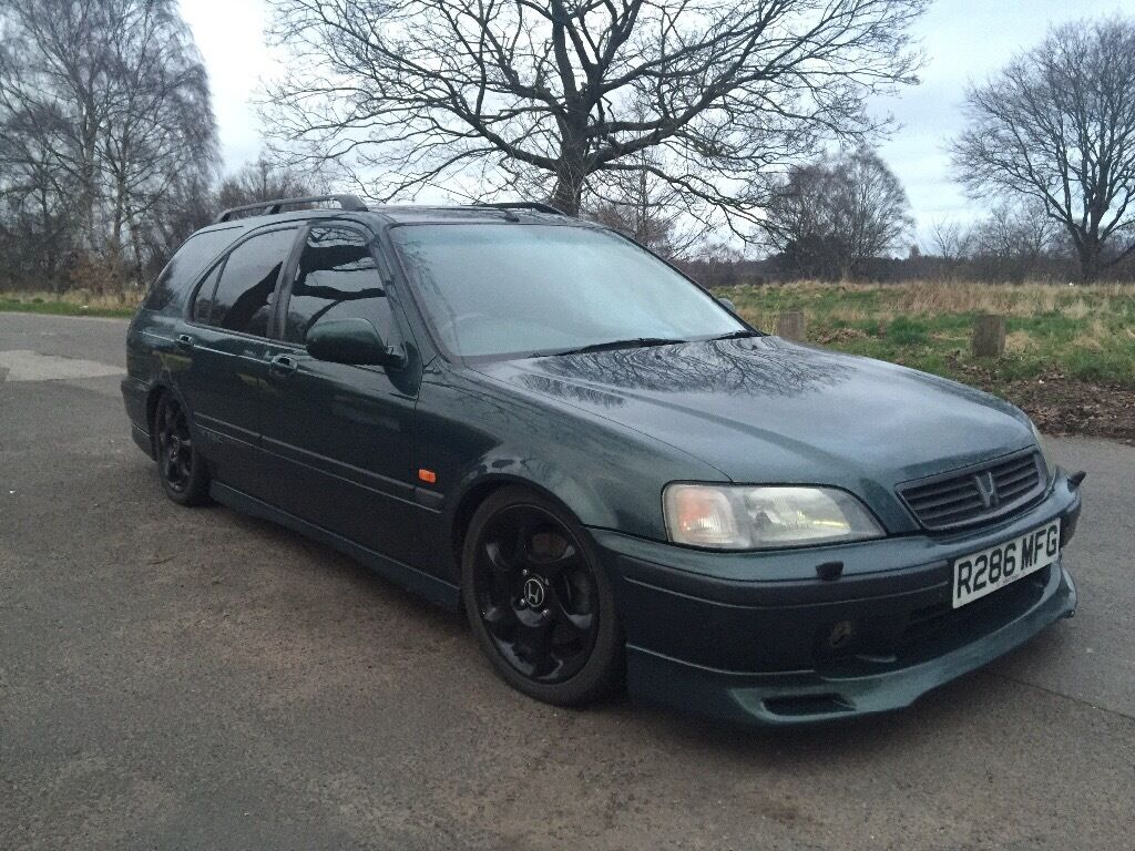 1998 honda civic 1 8 vti aerodeck green in hodge hill. Black Bedroom Furniture Sets. Home Design Ideas