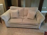 Alstons grey 3 seater sofa