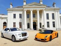 prom Lamborghini hire - Lamborghini chauffeured - grooms car - wedding car hire - Lamborghini Hire