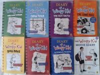 Diary of a Wimpy Kid Set - Used