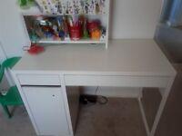 Ikea white desk