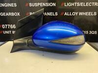 HONDA CIVIC MK8 PASSENGER WING MIRROR BLUE 2006-2011
