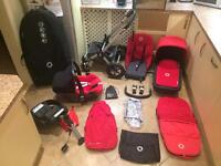Bugaboo Cameleon Huge Package in Red
