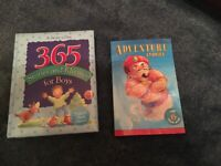 2 Books - 365 Stories and Rhymes for Boys Treasury and adventure stories for 6 year olds