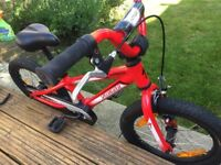 """Specialized Hotrock - 16"""" Red. VGC"""