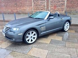 2005 CHRYSLER CROSSFIRE CONVERTIBLE ++ ALLOYS ++ LEATHER ++ MANUAL ++ CD ++ SEPTEMBER MOT.