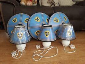 CCFC Cardiff City Bedroom Lighting Sets