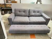 ✅✅✅🚚🚚🚚Large DFS Sofa With Matching FootStool For Sale Free DeliveryRadius Apply✅✅
