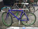 Selling blue fixie