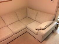 Next Corner Sofa, Excellent Condition from smoke/pet/child free home