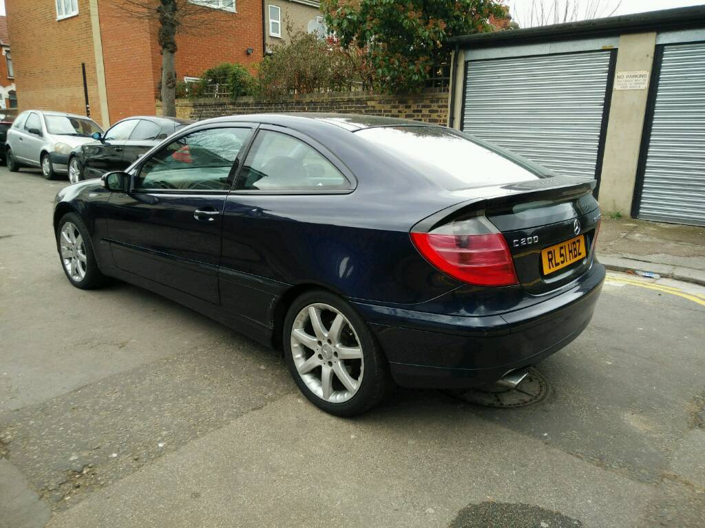 mercedes c200 kompressor coupe 2002 in east ham london gumtree. Black Bedroom Furniture Sets. Home Design Ideas