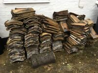 Vintage clay roof tiles - as a group or singly, offers considered!