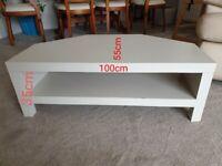 Corner TV bench