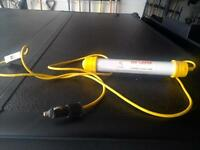 UV curing light and sun screen