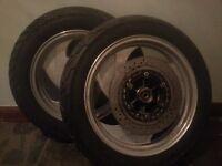 Motorbike wheels/bobber/chopper/cruiser