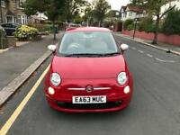 Fiat 500 1.2 Petrol 2013 Mileage only 27k and 1 Year Mot Road Tax £30 a Year
