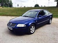 2003 Volkswagen Passat 1.9 Tdi Diesel Blue Metallic