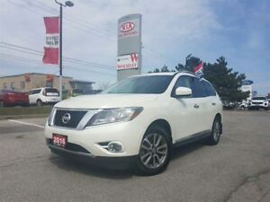 2016 Nissan Pathfinder SL|NAVI|LEATHER|PRM SOUND SYS|PANO ROOF|