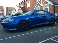 2005 Hyundai Coupe 2.0 Met-Blue 83,477 Miles Full Service History 12mts Mot