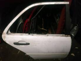 Mercedes benz w202 C Class rear Right Driver side OS door in white 1994-2000