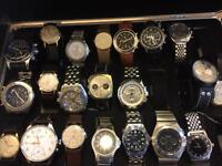 Rolex /Breitling/Omega watch collections wanted