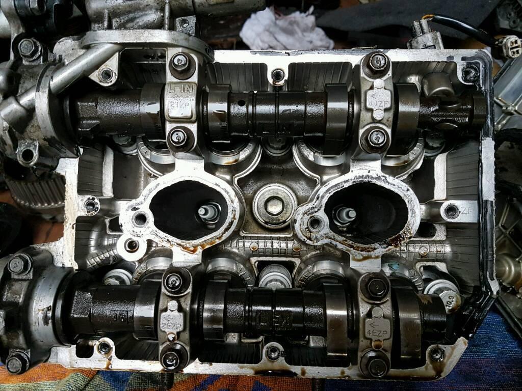Subaru impreza cylinder heads