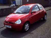 2007 57 FORD KA 1.3 STYLE ** ONLY 41800 MILES ** MOT AUGUST 2017 ** SERVICE HISTORY **