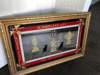 Vintage Sunderland AFC Roker Park Mirror