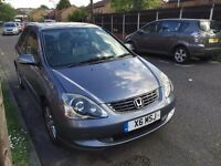 Honda Civic SE Executive 1.6 Auto,5 door,Private Plate,New MOT,Service History,HPI Clear,114k,£1495
