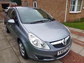 2007 Vauxhall Corsa Life 1.2 3 door