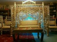 Wedding or mehndi jhoola for hire
