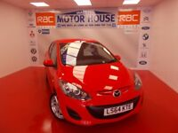 Mazda Mazda2 2 TAMURA (£30.00 ROAD TAX) FREE MOT'S AS LONG AS YOU OWN THE CAR!!!! (red) 2014