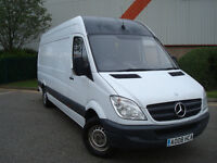 2008 Mercedes Sprinter 311 CDI LWB PANEL VAN,2 FORMER KEEPERS,FULL SERVICE HISTORY,12 MONTH M.O.T.