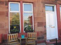 One Bedroom Main Door Flat to Rent in Musselburgh with Private Front Garden