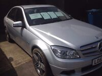 MERCEDES C180 BLUE EFFICIENCY VERY LOW MILEAGE! FSH, HPI CLEAR