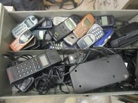 Job lot of old Mobile phones