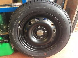 175/65/R14 1756514 Bridgestone Tyre On Ford Steel RIM