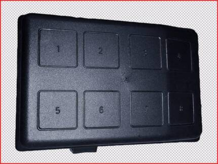 Holden Astra TS 1998 - 2005 Fuse Box Cover (Engine Bay)