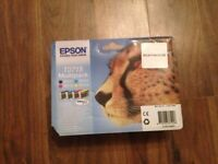 EPSON T0715 INK CARTRIDGE SET- UNOPENED