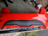 Ford Fiesta ST rear bumper - race red