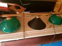 Pool Snooker table lights