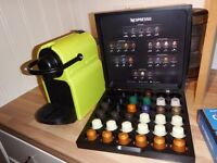 Nespresso Coffee Machine - BOXED and limited edition lime green